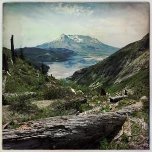 Mt. St. Helens and Spirit Lake
