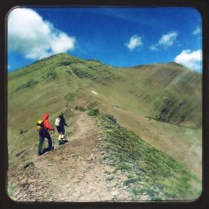 Linda and Harold tackle Carthew Ridge