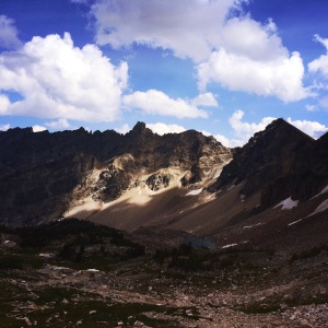 Just over Paintbrush Divide and in a whole new world