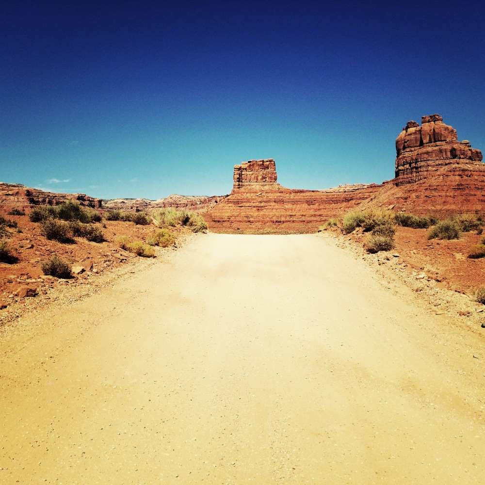 I had the Valley of the Gods all to myself for hours.